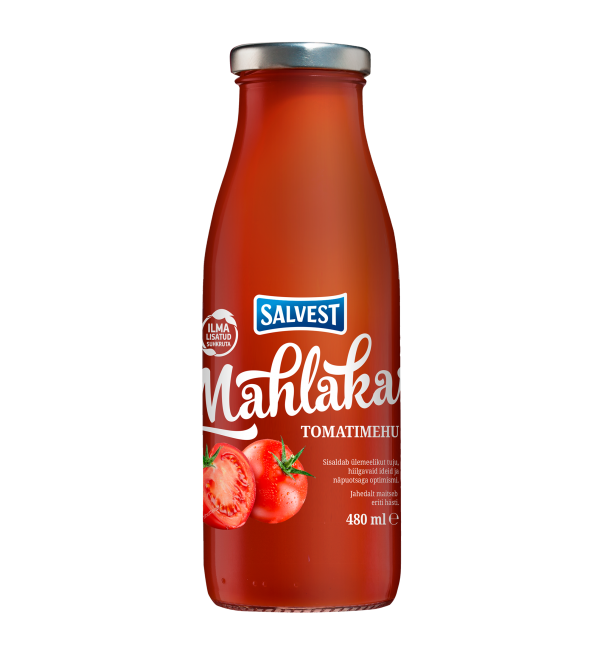 Salvest Mahlakas Tomato juice with pulp 480 ml