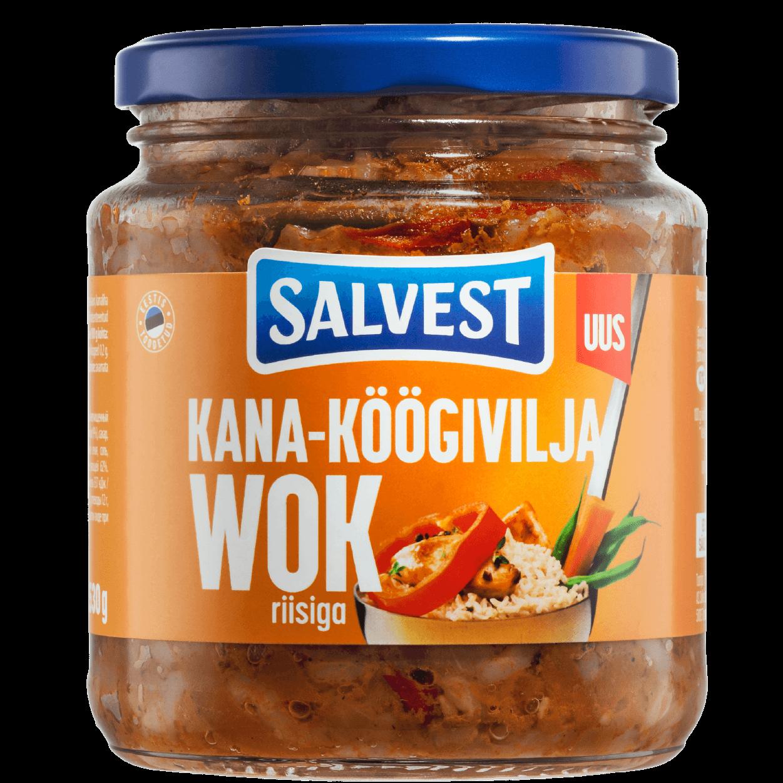 Salvest wok
